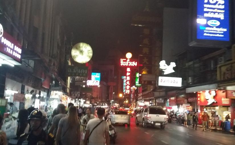 Bangkok's China town night market
